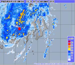 気象庁   レーダー・ナウキャスト 降水・雷・竜巻  (1)