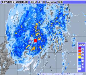 気象庁   レーダー・ナウキャスト 降水・雷・竜巻
